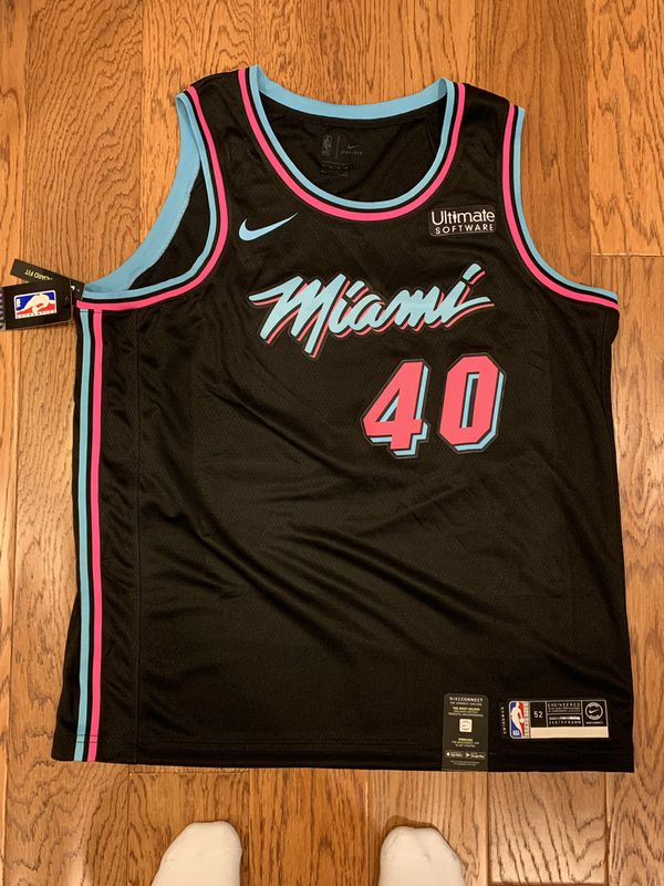 ce907127a0c Udonis Haslem Miami Heat Vice Black Nike Swingman Jersey. for Sale ...
