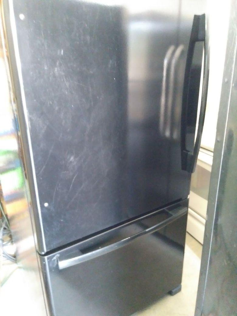 Whirpool Black Refrigerator