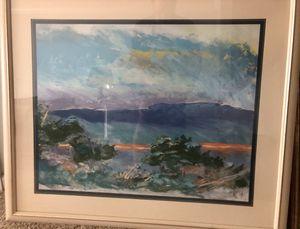 ART SEASCAPE FRAMED WATERCOLOR for Sale in Oakton, VA