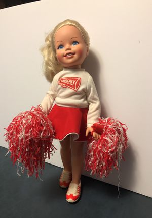 Cheerleader Kimberly. Comes with cheerleading Pom-poms. and tennis Shoes. Shows her teeth while she smiles. for Sale in Issaquah, WA