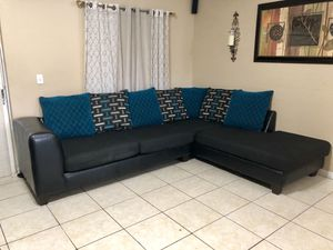 Beautiful Ashley's furniture sectional for Sale in Clermont, FL