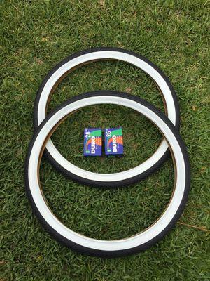 "Duro Small brick 26/""x2.125/"" beach cruiser tires Vintage Classic LOWRIDER Bike !"