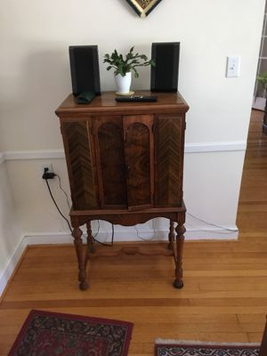 Antique Radio Cabinet for Sale in Chevy Chase, MD