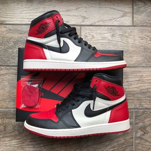 "Air Jordan 1 ""Bred Toes"". Size 9 for Sale in Annandale, VA"