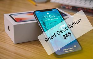 iPhone x 64gb or 256gb for Sale in Baltimore, MD