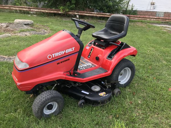 TROY-BILT ZERO TURN HYDRO-DRIVE LAWN TRACTOR for Sale in Cleveland, OH -  OfferUp