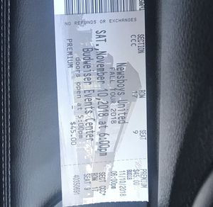 Newsboys Tickets for Sale in Broomfield, CO