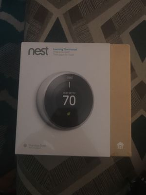 Nest learning thermostat for Sale in Temple Hills, MD