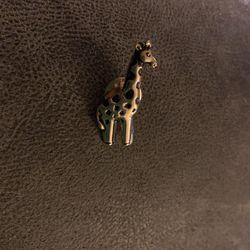 Giraffe Pin Or Tie Clasp (new) Very Nice Thumbnail