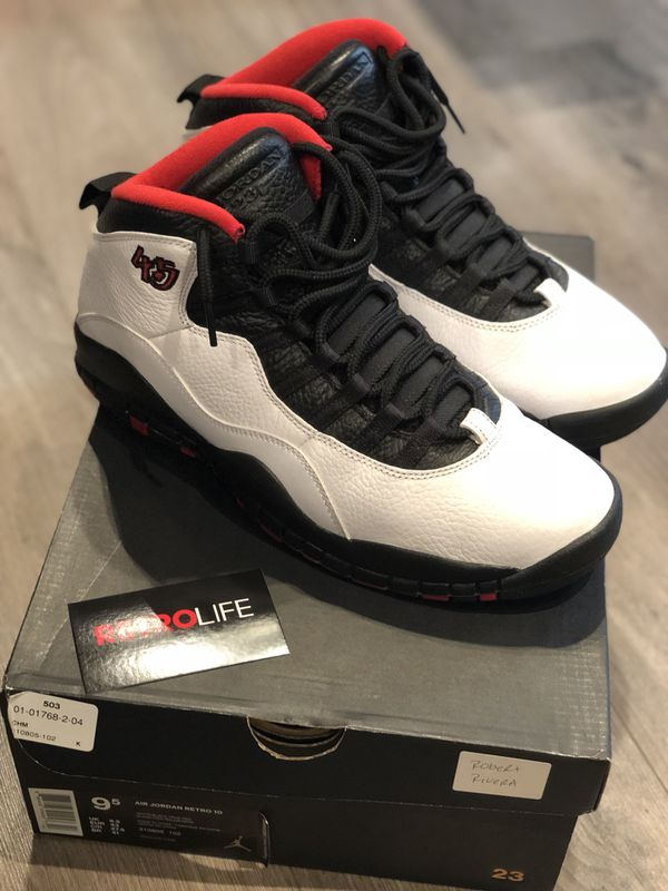 buy popular ea918 6a787 Air Jordan Retro 10 Doble Nikel Size 9.5