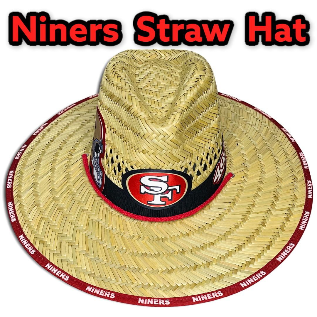 San Francisco 49ers straw hat (Great Father's Day Gift 🎁) Same Day Shipping If Paid By 3pm (I Also Have Other Team's)