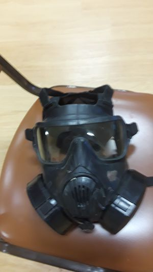 Photo Full protection military gas mask N95