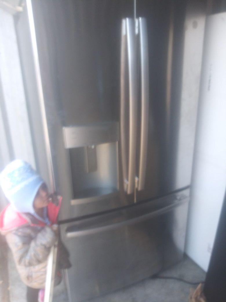 Refrigerator stainless steel