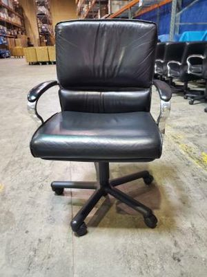 Photo Real leather commercial quality desk computer chairs