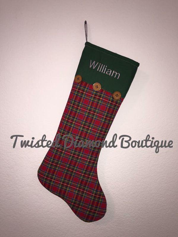 Custom Christmas Stockings For Sale In San Antonio Tx Offerup