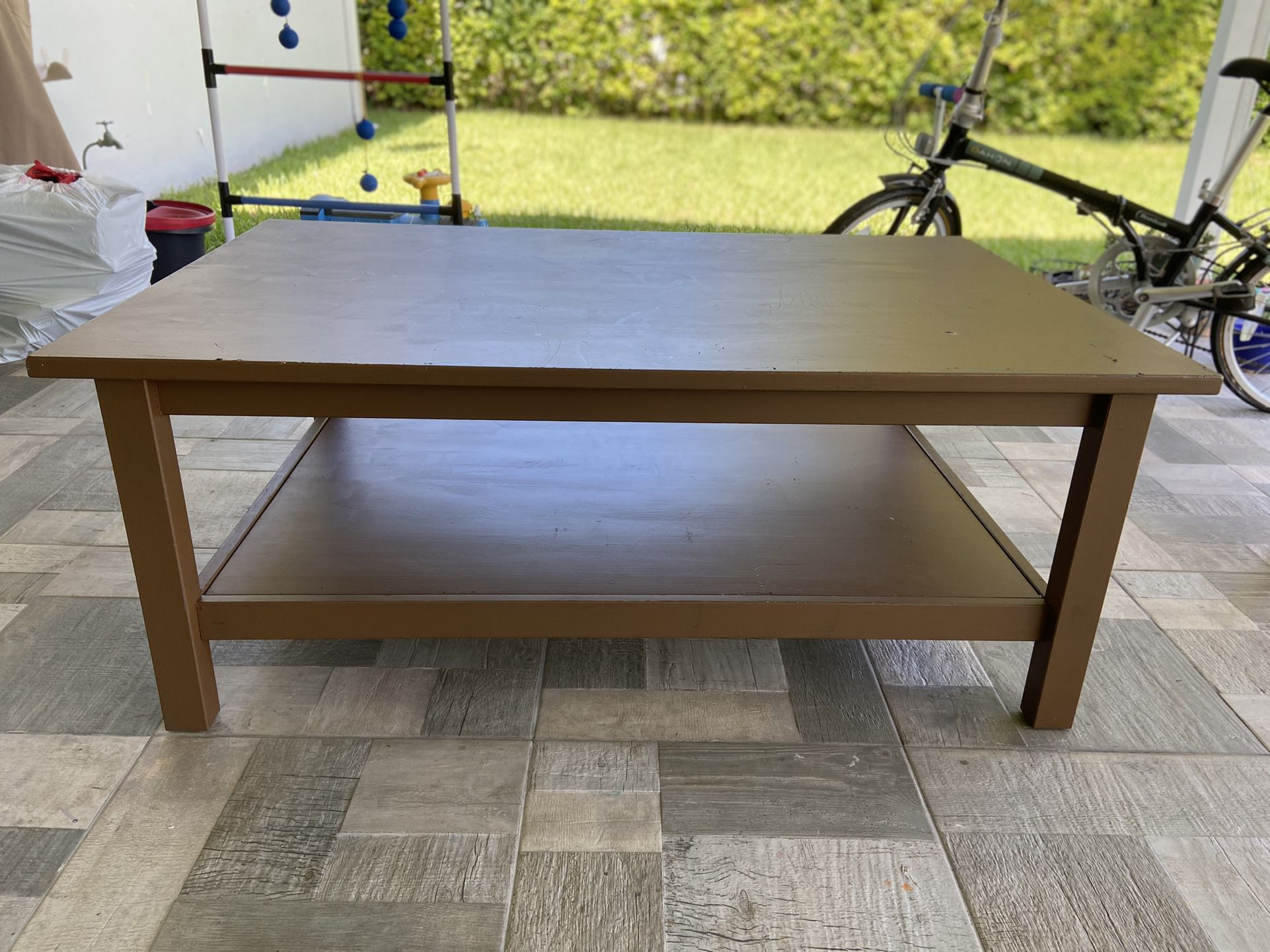 Wood Low Table