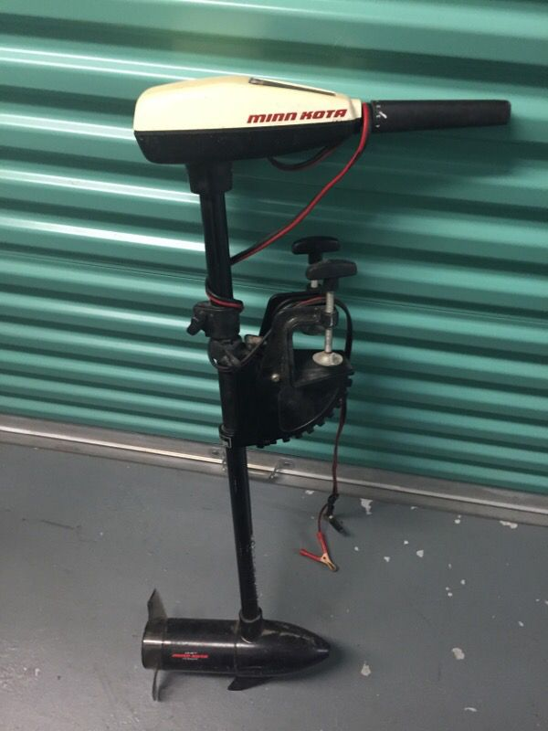 24 lb thrust minn Kota trolling motor for Sale in Bunnell, FL