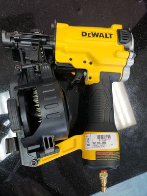 Dewalt Coil Roofing Nailer for Sale in Raleigh, NC