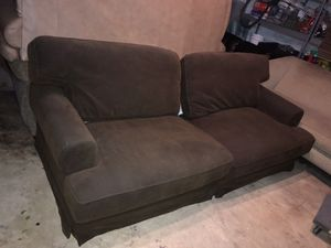 Large IKEA Couch- Thick Deep Cushions for Sale in Silver Spring, MD