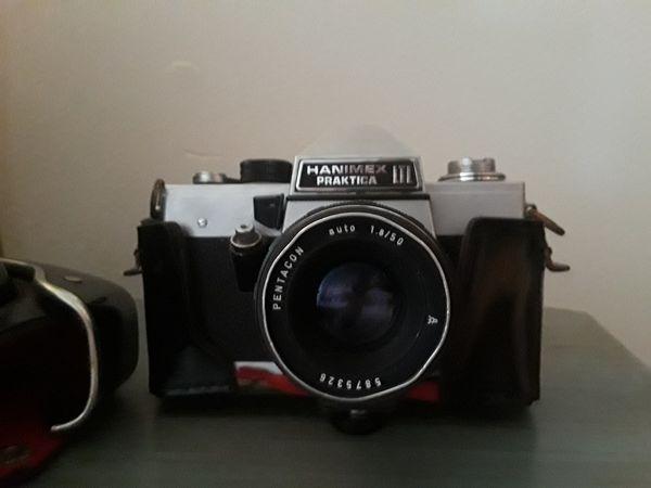 Untested vintage pentacon praktica l slr camera body only