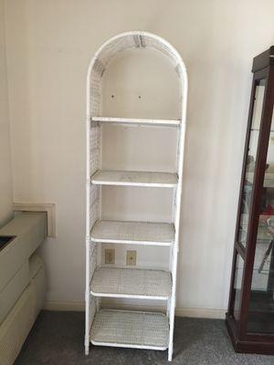 Used wicker shelf for Sale in Westminster, MD
