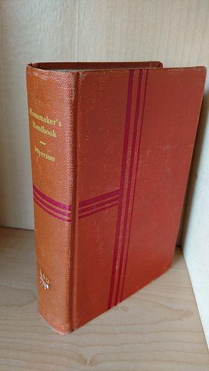 Homemaker's handbook 1935 for Sale in Appomattox, VA