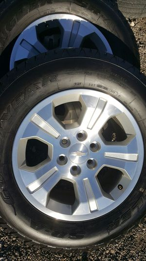 Chevy Wheels Set Z71 For Sale In Fort Worth Tx Offerup