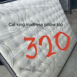 Cal King Size Mattress  Pillow Top  Thumbnail