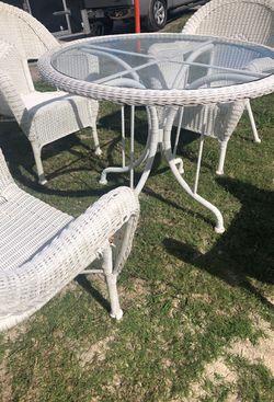 resin wicker patio set Thumbnail
