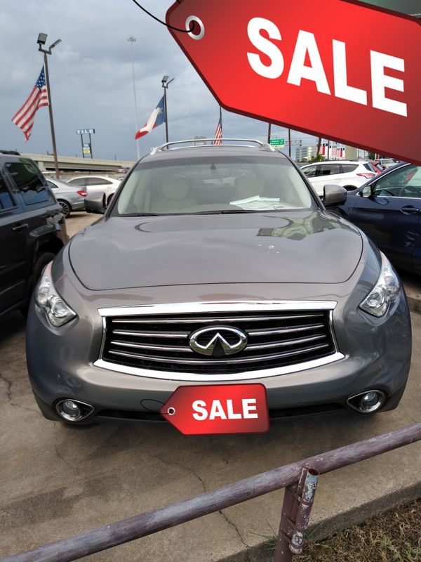 Bad Credit No License Car Dealerships >> 2013 Infinity FX37 SUV for Sale in Houston, TX - OfferUp