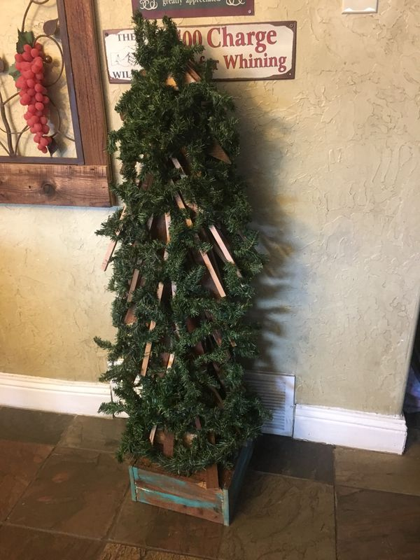 rustic christmas tree 51 t for sale in bedford tx offerup - Rustic Christmas Decor For Sale