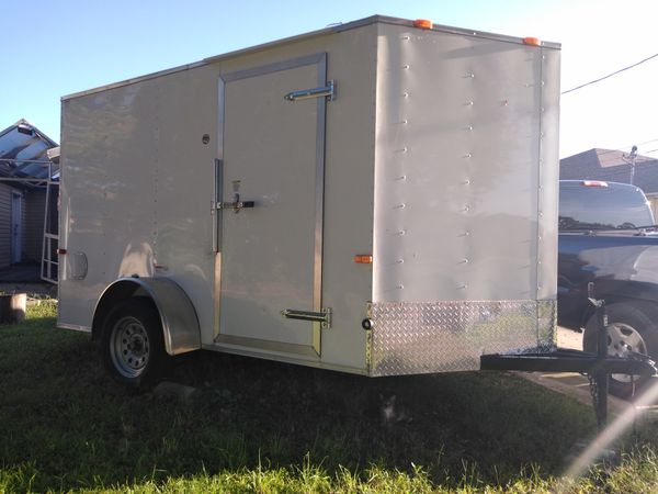 Travel Trailers For Sale Puyallup Wa >> Enclosed trailer for Sale in Cape Coral, FL - OfferUp
