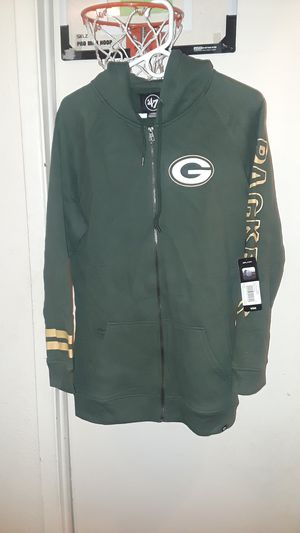 Packers Size Large Zip up hoodie for Sale in Denver, CO