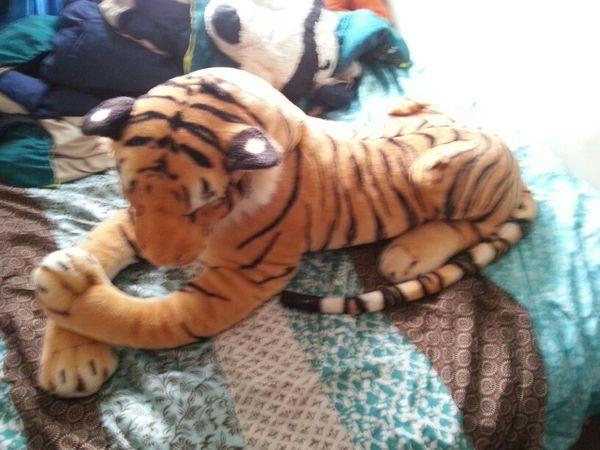 Big Stuffed Animal Tiger For Sale In Kalamazoo Mi Offerup
