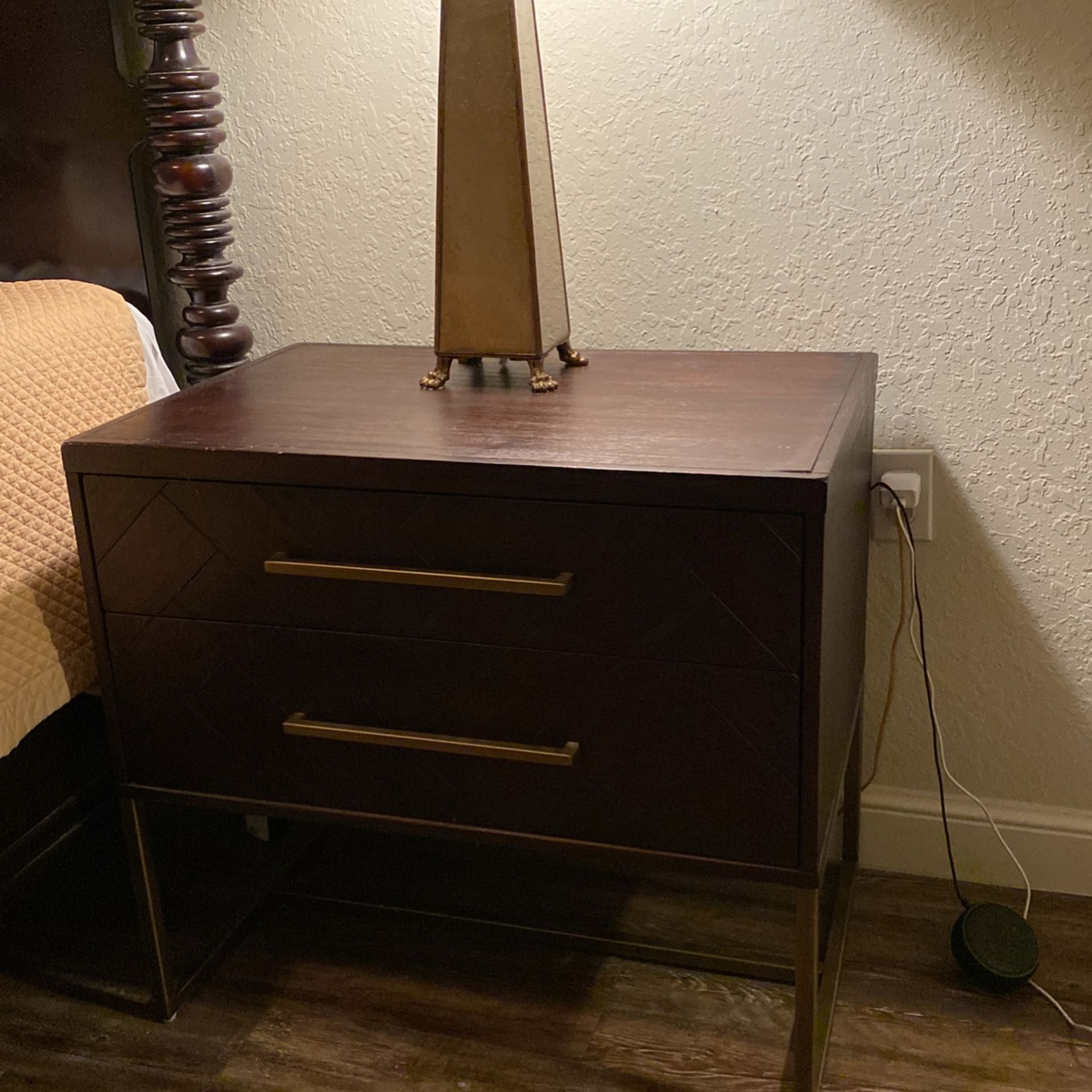 2 Bedside End Tables