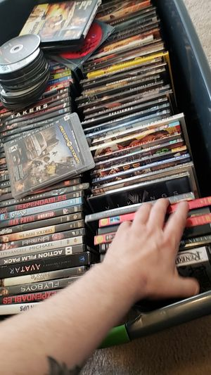 DvDs and maybe 3 blu ray and sony DVD player for Sale in Sully Station, VA