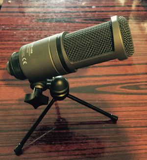 Audio-technica - AT2020 USB Cardioid Condenser Microphone for Sale in San Francisco, CA