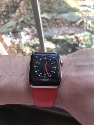 Rose gold Apple Watch for Sale in Reston, VA