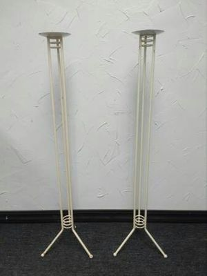 Photo 40 inch Floor Candle Holders
