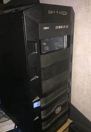 Computer case atx tower cooler master for Sale in Orlando, FL