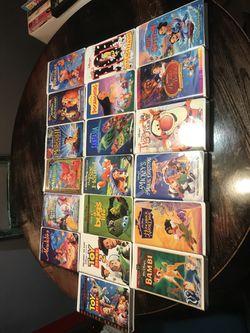 Very rare Disney VHS movies Thumbnail