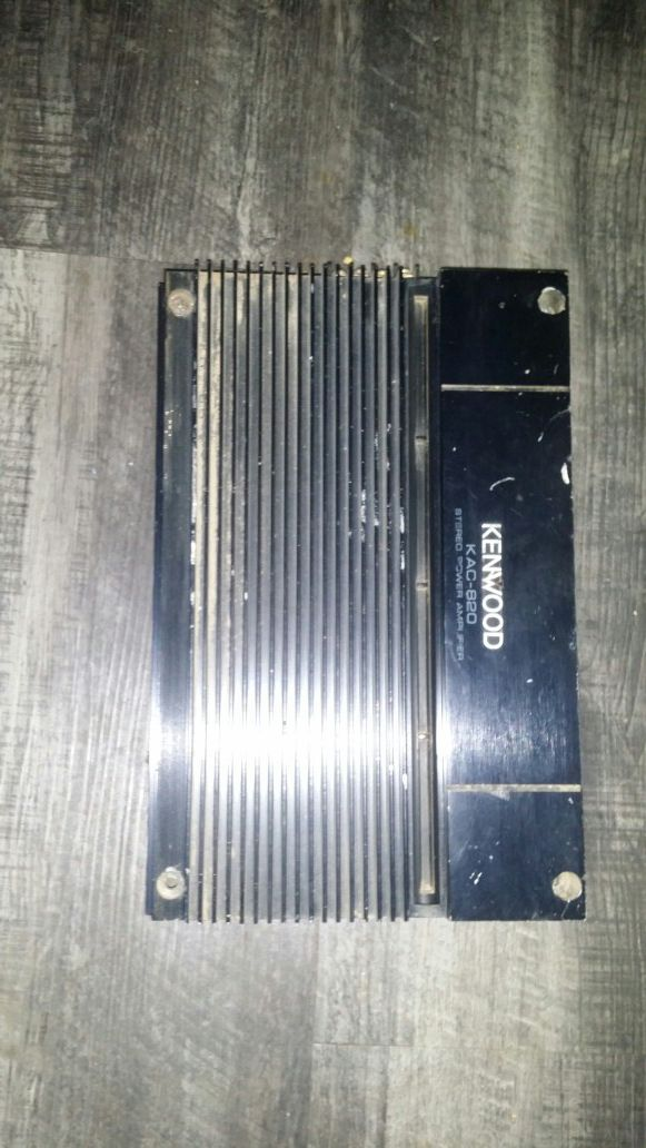 Kenwood Kac 820 Amplifier For Sale In Las Vegas Nv Offerup