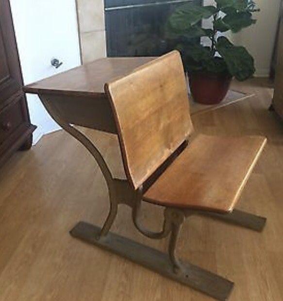 Antique Wooden Student Desk for Sale in Arlington, TX - OfferUp