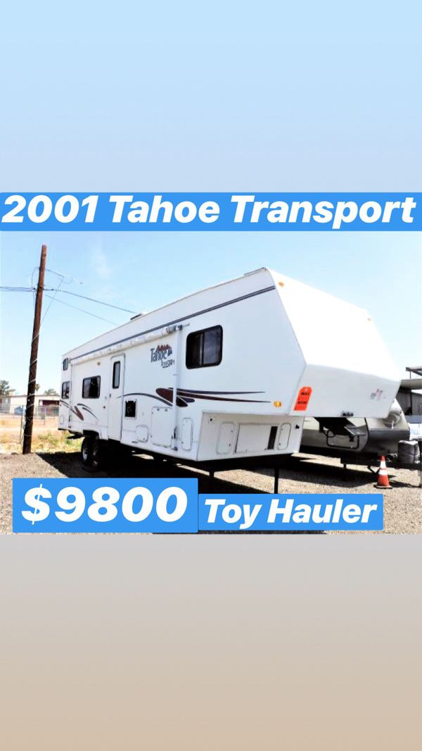 Tahoe Toy Hauler Camper – Wow Blog