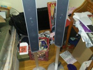 Sony speakers free standing pair for Sale in Seattle, WA