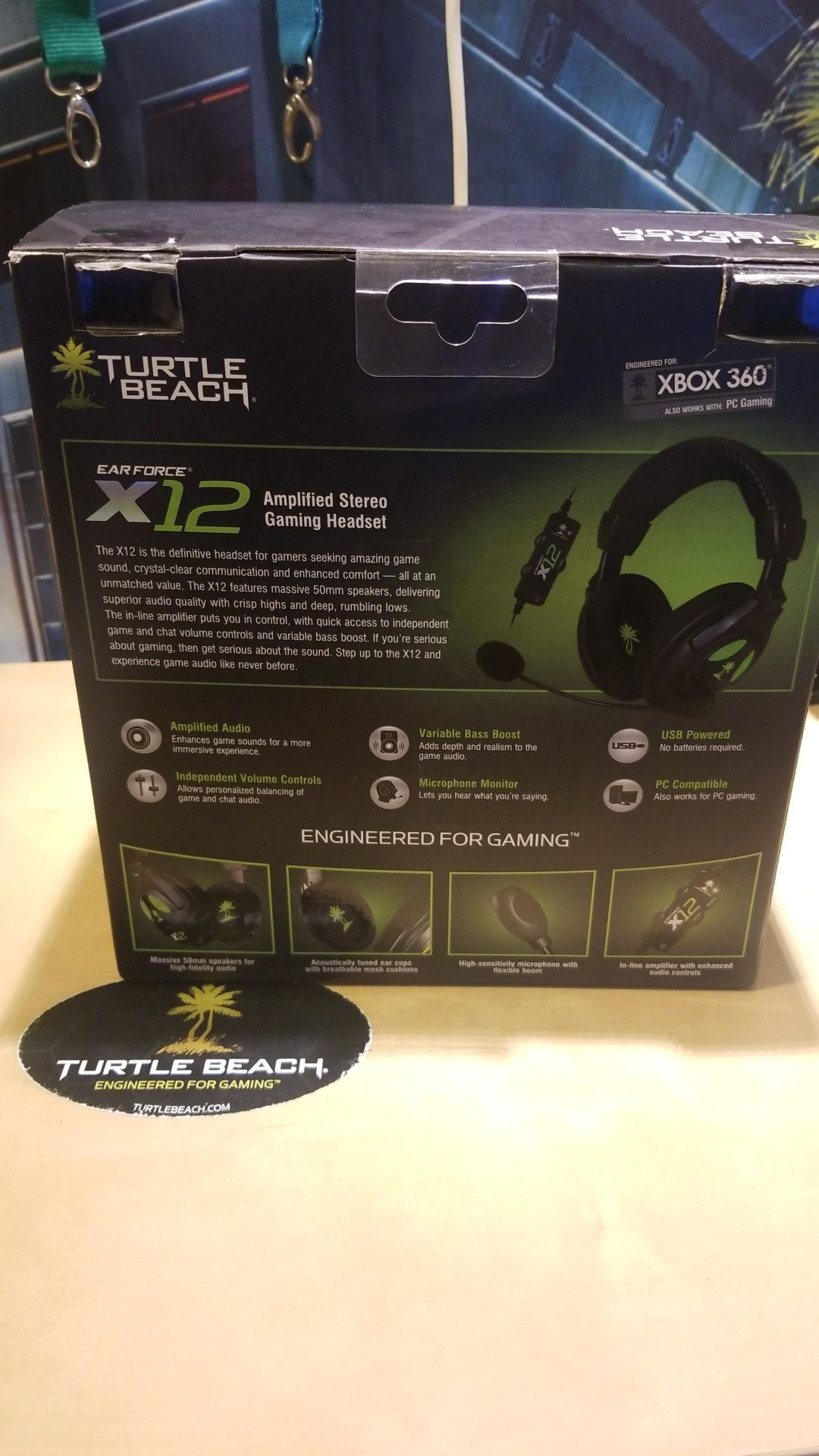 Turtle beach ear force X12 best for PC