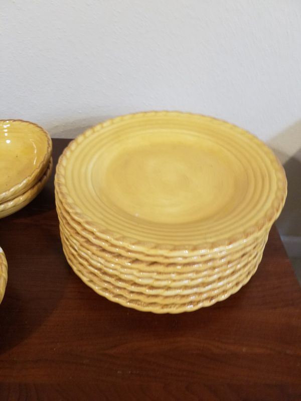 Artimino Tuscan Countryside plates and bowls for Sale in Friendswood ...