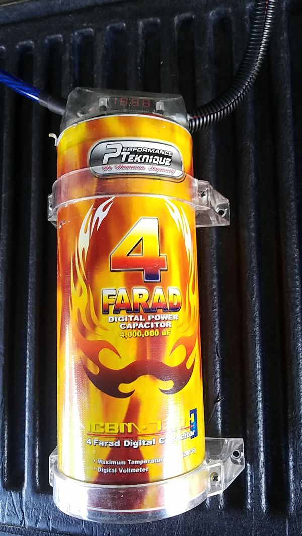 4 farad capacitor with digital readout for Sale in Phoenix, AZ - OfferUp