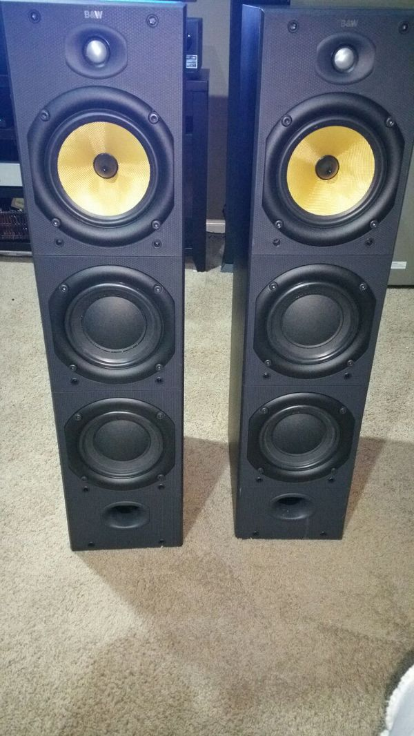 B&W DM604 S2 tower speakers Bowers Wilkins for Sale in Houston, TX - OfferUp