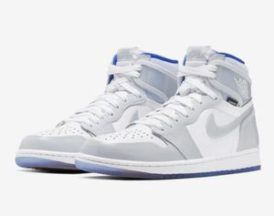 Photo Jordan 1 Retro High Zoom White Racer Blue $240 size 10